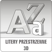 Magaplex24 - litery 3D